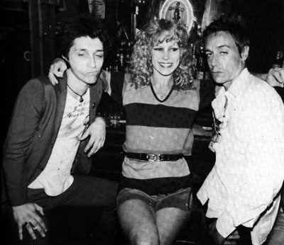 35.Johnny, Sable Starr and Iggy Pop