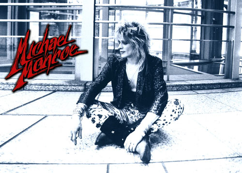 The Michael Monroe official website